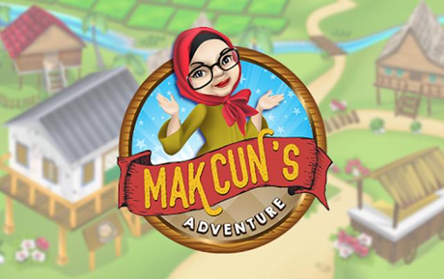 Pemainan Digital Mak Cun's Adventure, Dah Terjebak.... huhu!