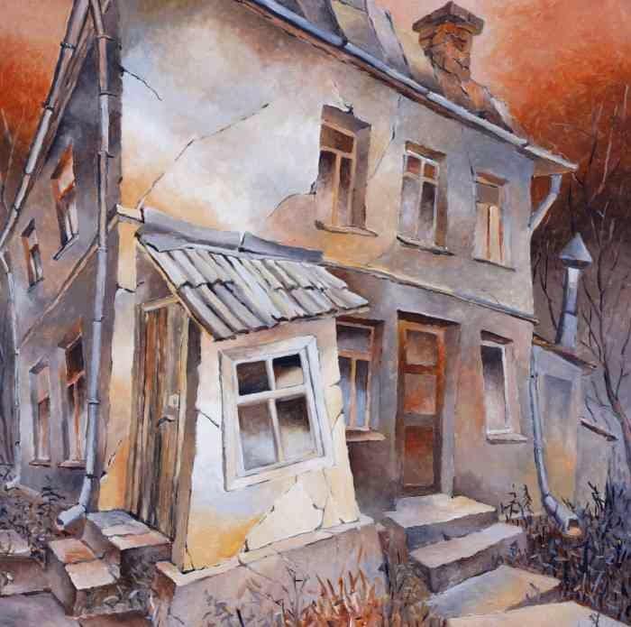 Латвийский художник. Aivars Mangulis