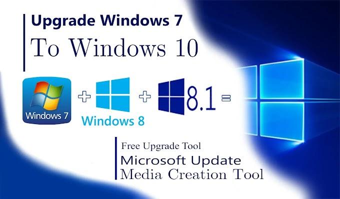 Start updating windows 7 to windows 10