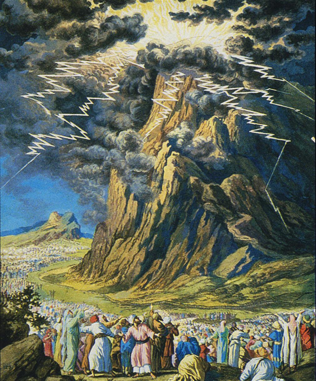 Estudio Biblia Exodo 20 18 23 Reacción A La Experiencia Del Sinaí