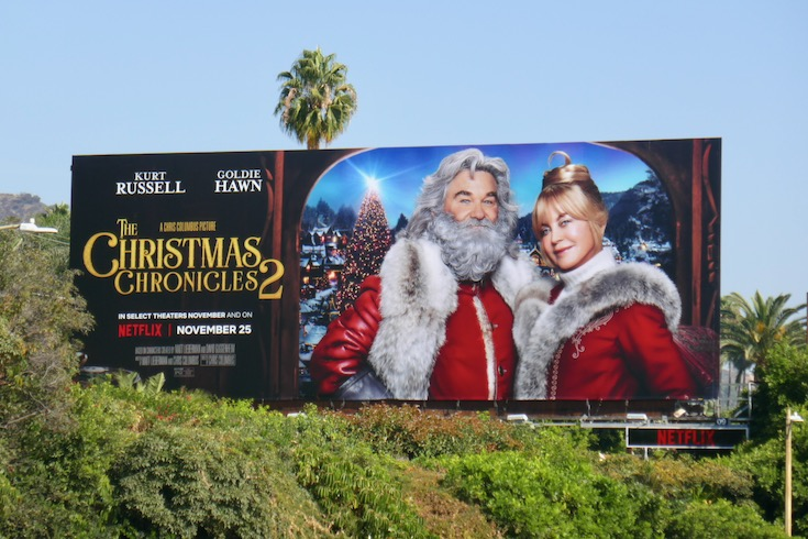 Christmas Chronicles 2 movie billboard