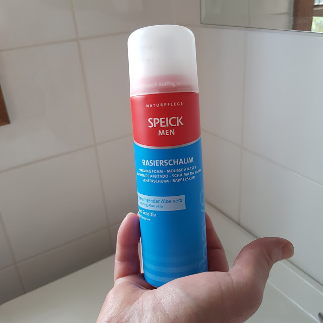 SPEICK hydro sensitive shaving foam | Almost Posh