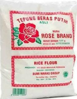 Keunggulan Mengkonsumsi Tepung Beras Rose brand