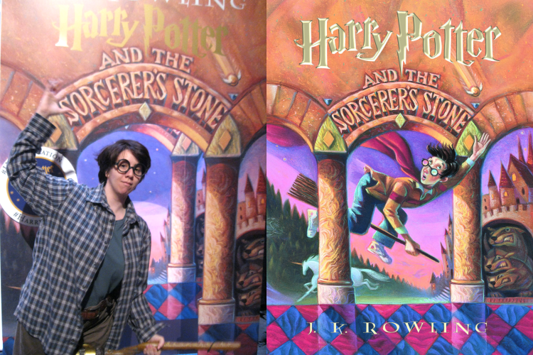 Harry Potter and the Sorcerer's Stone lifesize cover