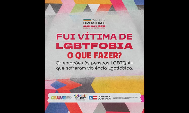 Governo da Bahia lança cartilha com orientações para vítimas de LGBTfobia