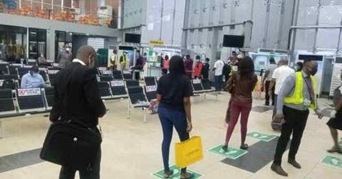 Flight Operations Resumes In Lagos .......