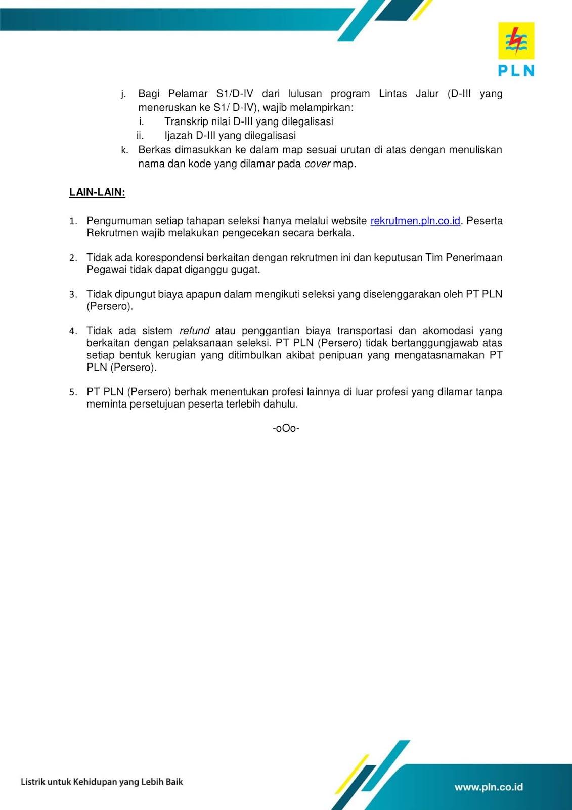 Lowongan Kerja Umum PLN (Persero) Group Tingkat D3 S1 Via Airlangga Career Fair Tahun 2019