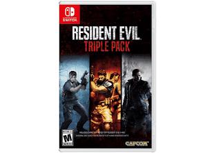 $30, Resident Evil Triple Pack (Nintendo Switch)