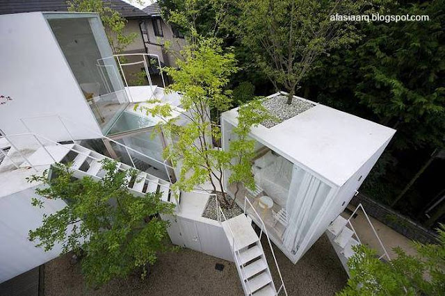 Casa vanguardista japonesa en Tokio