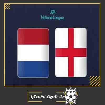 بث مباشر مباراة انجلترا وهولندا