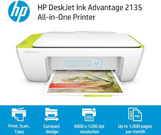 Software & Driver Printer HP DeskJet Ink Advantage 2135