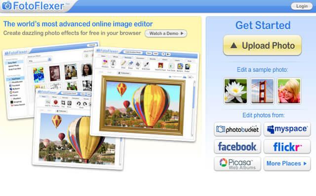 FotoFlexer-editor