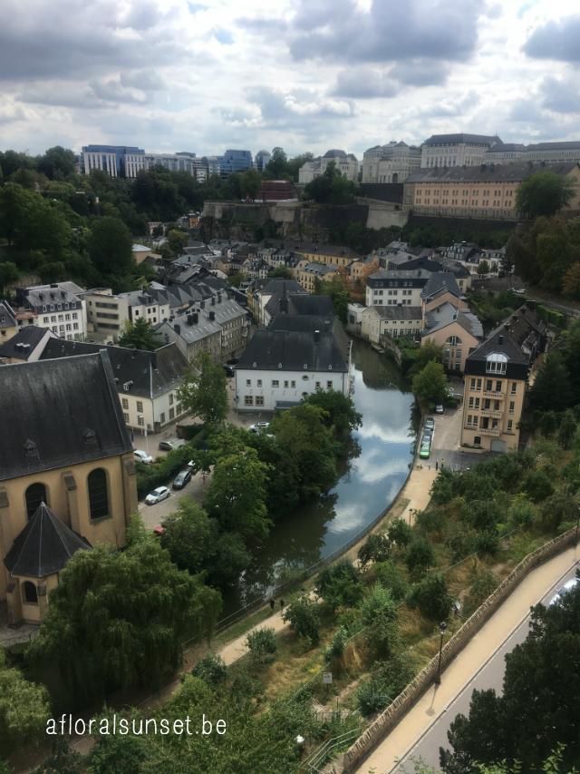 Hoe spendeer je 24u in Luxemburg? - a floral sunset