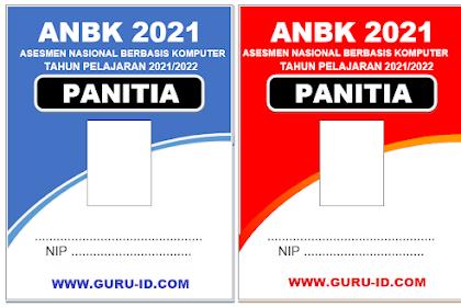 Download Kartu Panitia (id card) ANBK Word & Power Point