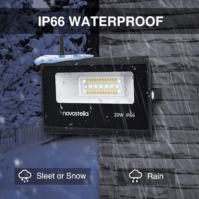 Novostella 20W Smart LED Flood Lights Are Your Optimal Smart Lighting Choice!