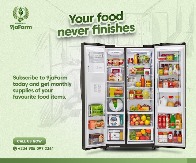 9JAFARM is working nonstop to restore the growingly exhausted food internet business framework in Nigeria