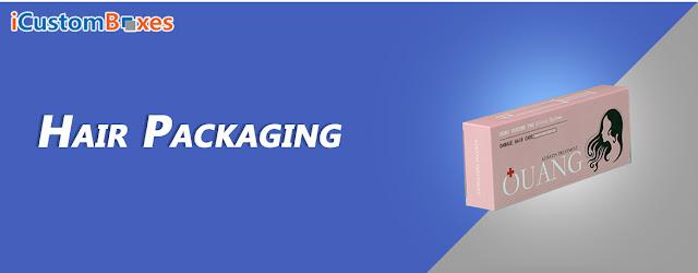 Hair Extensions Packaging Box
