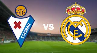 مشاهدة مباراة ريال مدريد ضد ايبار 3-4-2021 بث مباشر في الدوري الاسباني