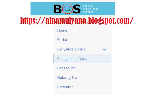 Cara Cek Penggunaan Dana BOS SD SMP SMA SMK Di Situs atau Website bos.kemdikbud.go.Id.
