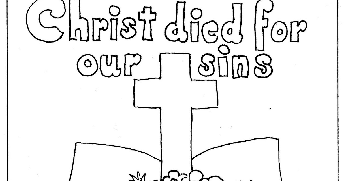 Coloring Pages for Kids by Mr. Adron: Bible and Cross