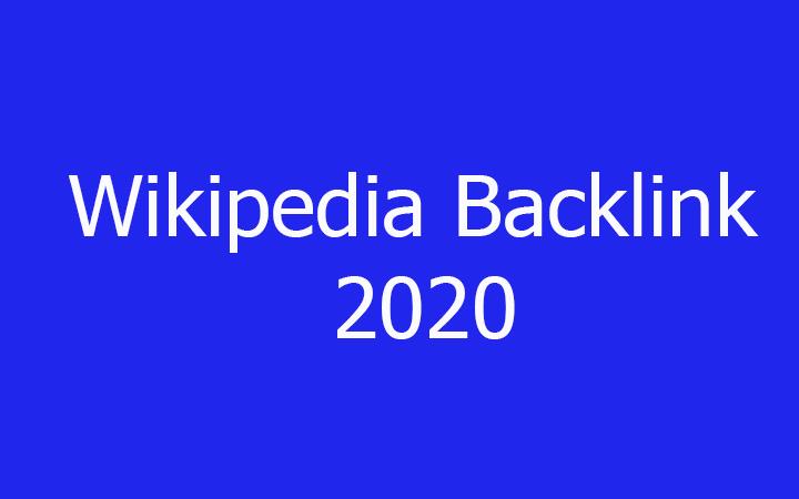Wikipedia Backlink