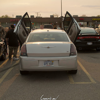 Chrysler 300 Lambo doors