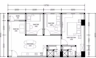 Tipe Unit Apartemen