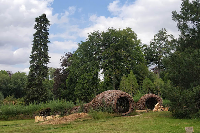 Living Willow Sculptures Meise Plantentuin