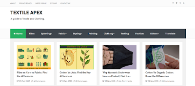 Top listed Textile Blogs and Websites on the web - Textile Apex