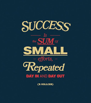 student success is sum small efforts.