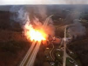 vandalised pipeline