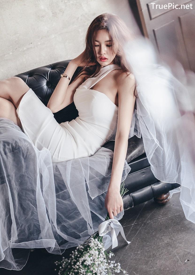 Image Korean Fashion Model - Park Jung Yoon - Wedding Dress Set - TruePic.net - Picture-2
