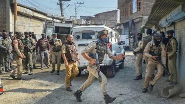 Jammu Kashmir -श्रीनगर के खोनमोह मुठभेड़ में अल - बदर के दो आतंकी ढेर