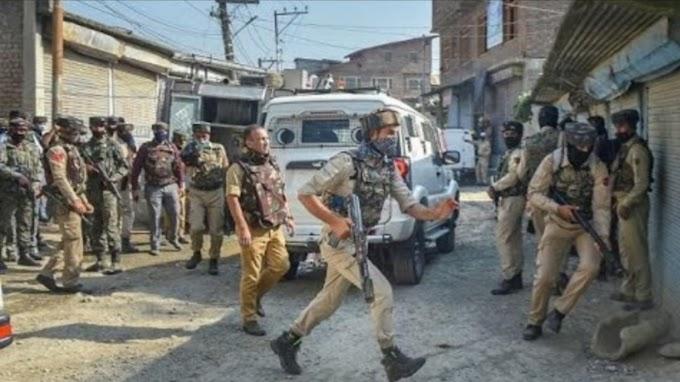 Jammu Kashmir - श्रीनगर के खोनमोह मुठभेड़ में अल - बदर के दो आतंकी ढेर