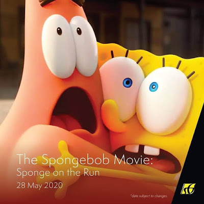 Filem Keluar Panggung Wayang 2020 | The Spongbob Movie : Sponge on the Run (2020)