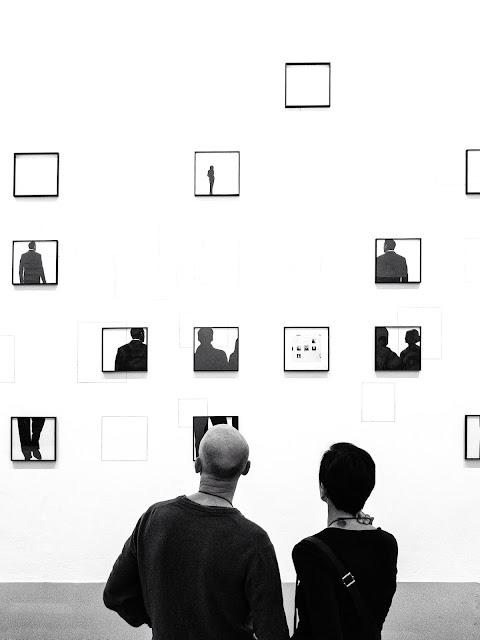 Art in a gallery