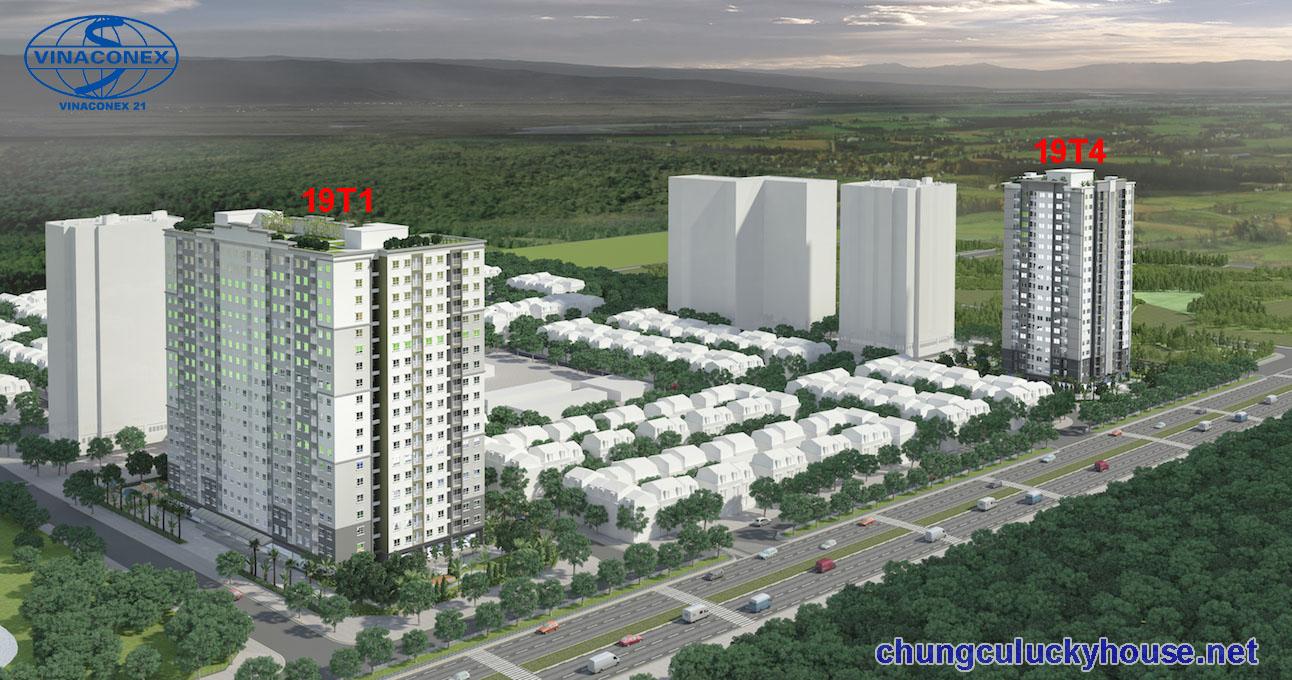 Tòa chung cư 19T4 nhà ở xã hội Lucky House Kiến Hưng, Hà Đông