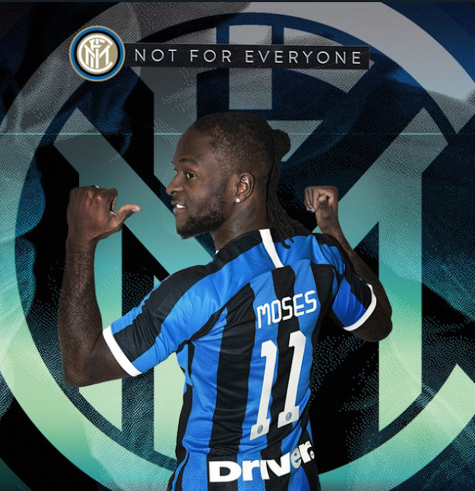 Inter Milian signs Victor Moses