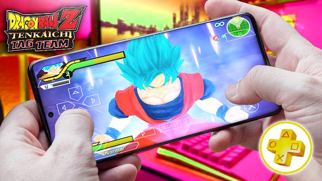 Dragon Ball Z: Tenkaichi Tag Team Para Android (Configuraciones) [ROM PSP]