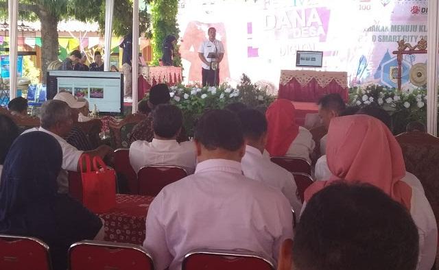 Kecamatan Karanganom Launching Aplikasi Desa Digital