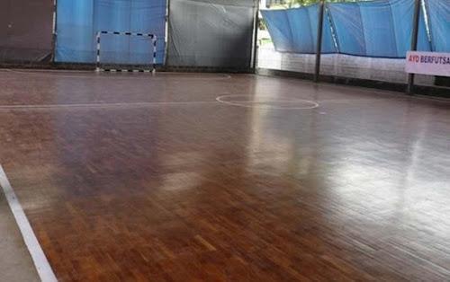 Lapangan Futsal kayu