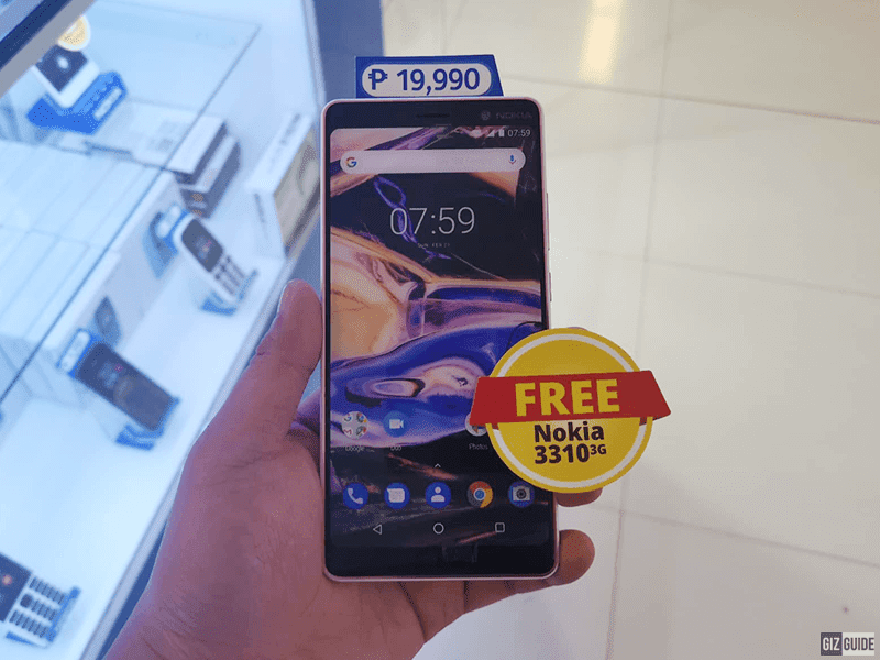 Sale Alert: Buy the Nokia 7 Plus and get a 3310 3G for FREE