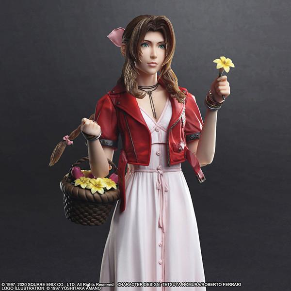 Play Arts Kai Aerith Gainsborough - Final Fantasy VII Remake - (24,7 cm)