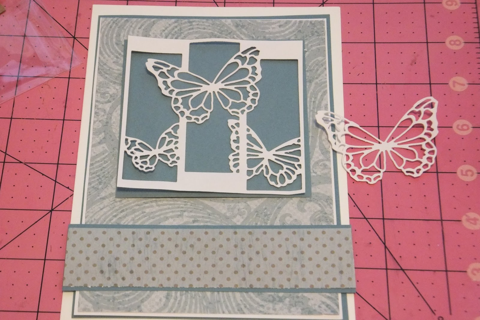 Bee Cee Creativity: Valentine Card with lots of die cuts ...