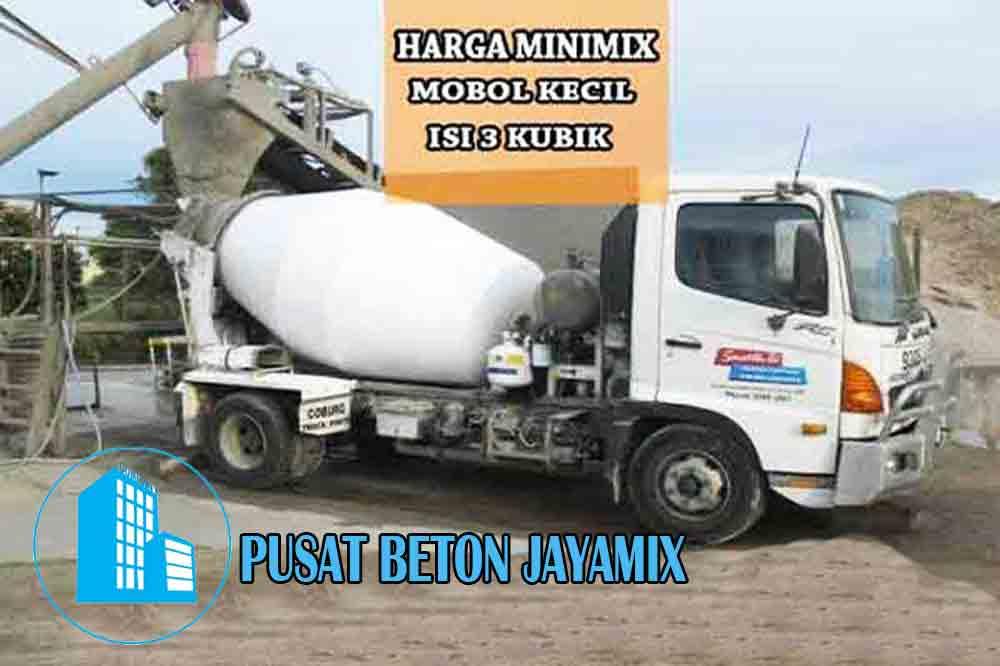 HARGA BETON MINIMIX JAKARTA BARAT PER M3 TERBARU 2020