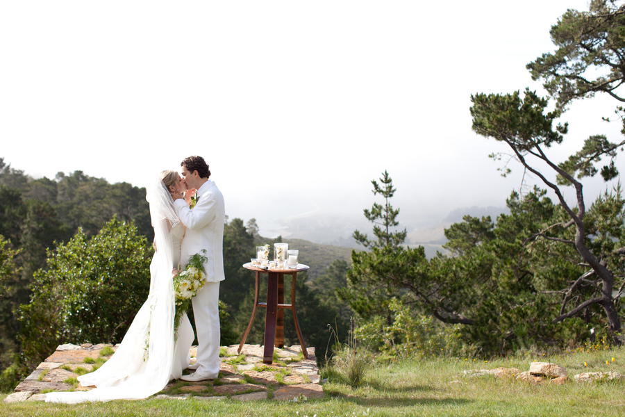 This Chose To Say I Do At Point Lobos Ridge Estate High In The Hills Of Carmel And Overlooking California Coast
