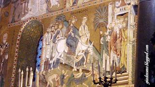 palermo capela palatina mosaico entrada jesus jerusalem - Dez razões para ver e se apaixonar por Palermo