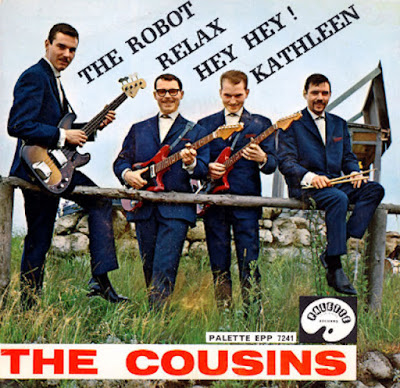 The Cousins– The Robot (Palette EP 7241) (1962)