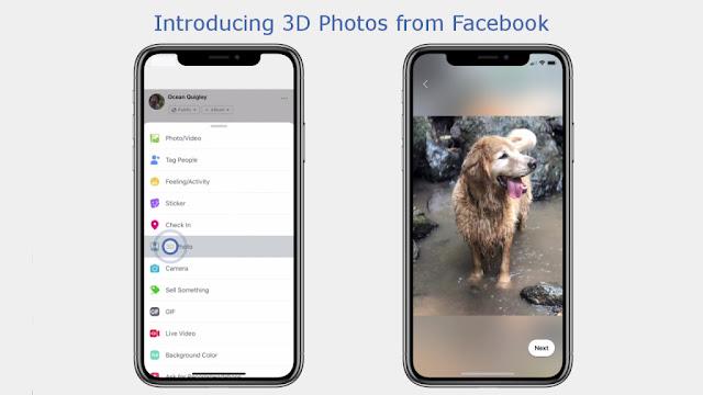 Facebook 3D Photo