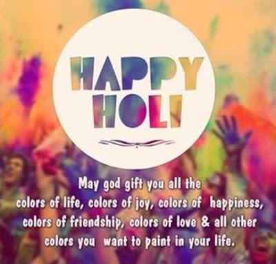 Holi Message